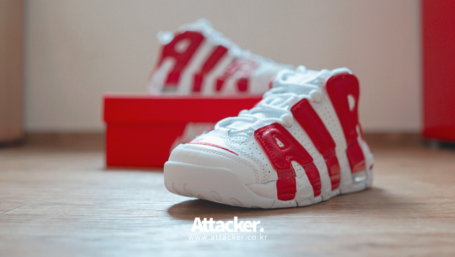 20160608 nike air more uptempo white red (2)
