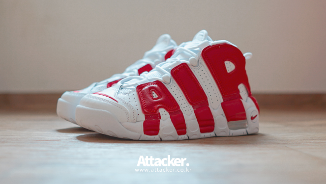 20160608 nike air more uptempo white red (5)