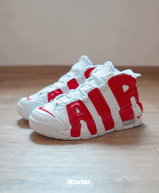20160608 nike air more uptempo white red (6)